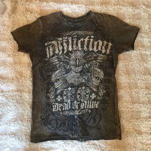 Affliction T shirt Dead or Alive